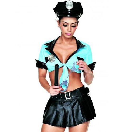 Kit Fantasia Policial Saia  Sapeka