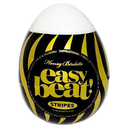 Egg Masturbador Masculino Easy Beat Stripes- EGG   STRIPES