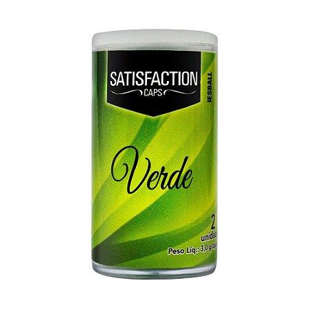 Bolinha Iesball Verde Aromáticas Com 2 Unidades Satisfaction Caps