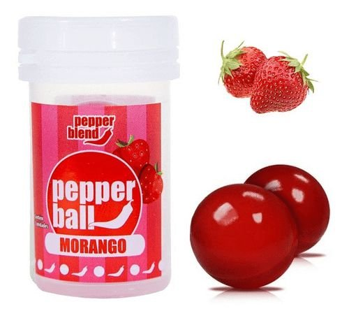 Pepper Ball Morango Pepper Blend C/2 Un