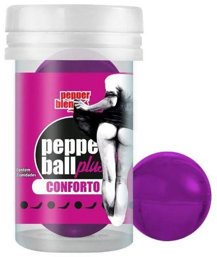 Bolinha Pepper Ball Plus Conforto 2 Unid Pepper Blend