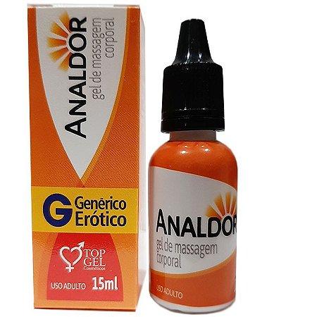 Analdor (Anestésico Anal Excitante) 15Ml - Top Gel