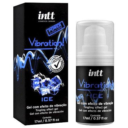 Vibration Gel Excitante Que Vibra Power Extra Forte Sabor Ice 17Ml Intt