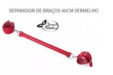 Separador De Braços 40cm Brasil Fetiche Vermelho