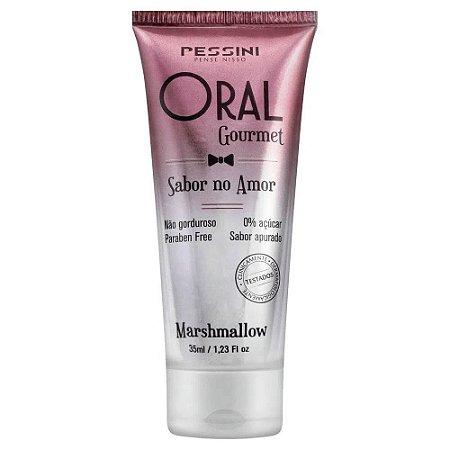 Gel Comestível Oral Gourmet 35ml Pessini Marshmallow