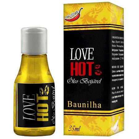 Gel Comestível Love Hot 35ml Chillies - Baunilha