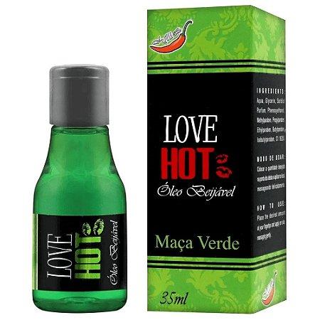 Gel Comestível Love Hot 35ml Chillies - Maça Verde