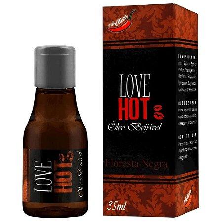 Gel Comestível Love Hot 35ml Chillies - Floresta Negra