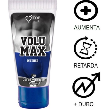 Volumax Intense (Aumenta, Prolonga, Engrossa E Excita) 15ml