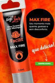 Anestésico Anal Facilit Max Fire 15ml Soft Love