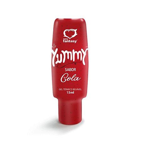 Gel Térmico Comestível Yummy Sabor Cola 15ml Sexy Fantasy