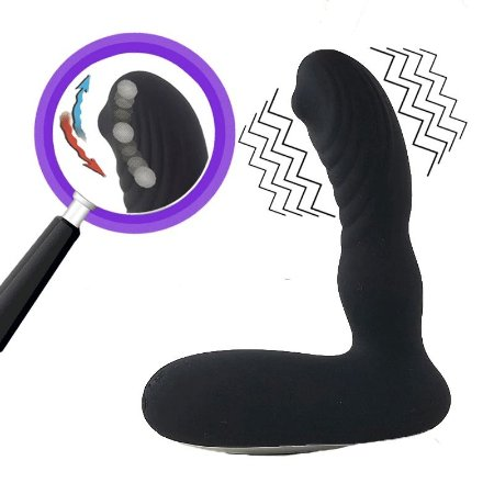 Vibrator- Massageador De Próstata C/10 Modos De Vibração