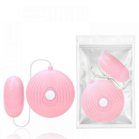 Bullet Mini Vibrador com 7 Modos de Vibro Rosa