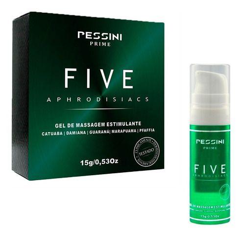 Excitante Estimulante Five Aphrodisiacs 15g Pessini