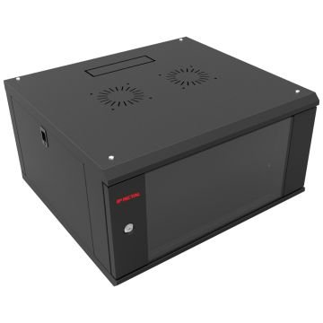 "BRACKET DESMONTAVEL 6U X 450 MM 19"" PT - 1000660450 - IP METAL"
