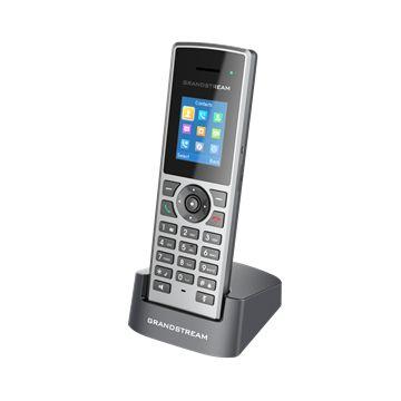 TELEFONE DECT IP S/FIO - 10 C.SIP/3VIAS/PTT/AUDIO HD - DP722 - GRANDSTREAM