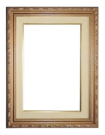 Moldura para Telas de Pintura 0058 Dourada