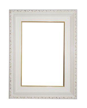 Moldura para Telas de Pintura 0058 Branca