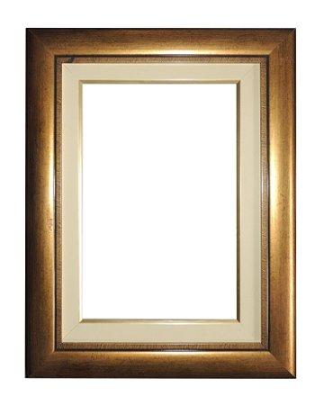 Moldura para Telas de Pintura 0386 Dourada