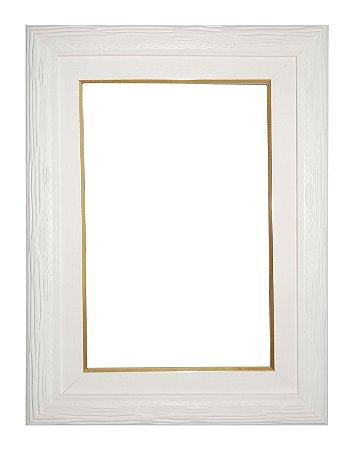 Moldura para Telas de Pintura 0171 Branca