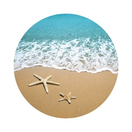 Painel de Festa Redondo Praia Estrela do Mar