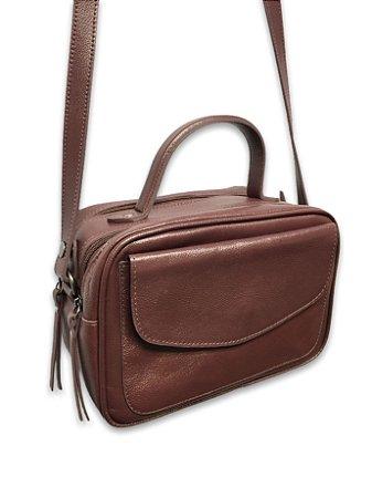 Bolsa maleta couro legítimo