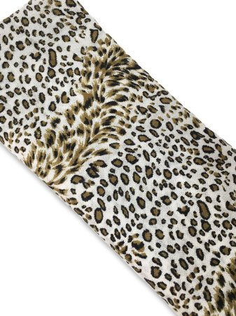Pashmina lã branca onça