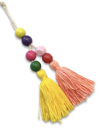 Chaveiro color tassel