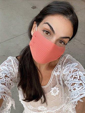 Máscara canelada