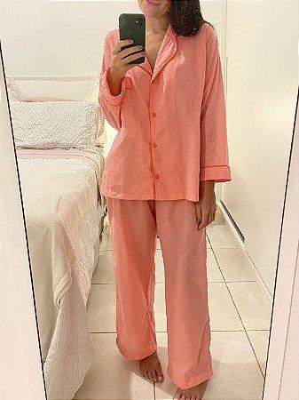 Sleepwear longo 100% algodão
