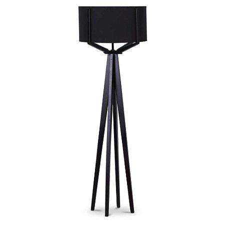 Luminária de Piso preta