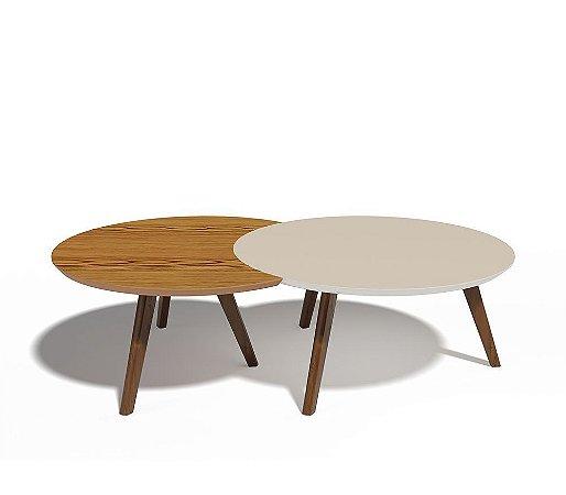 Conjunto mesa centro DK