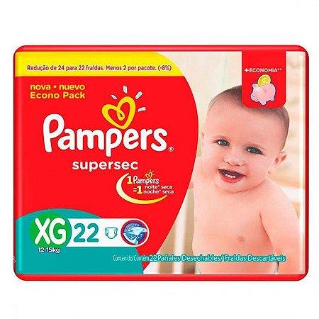 FDA PAMPERS SUPERSEC XG C/22
