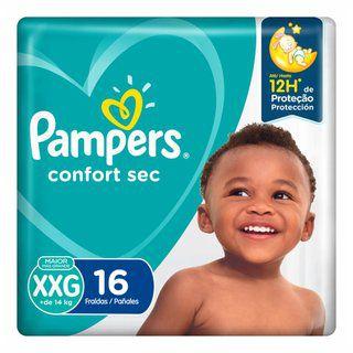 FDA PAMPERS CONFORT SEC XXG C/16