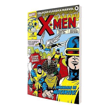 Coleção Clássica Marvel Vol. 3 - X-Men Vol. 1