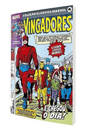 Coleção Clássica Marvel Vol. 4 - Vingadores Vol. 1