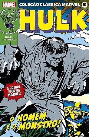 Coleção Clássica Marvel Vol. 5 - Hulk Vol. 1