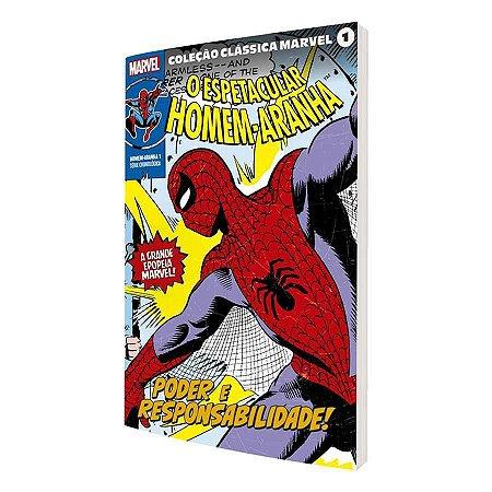 Coleção Clássica Marvel Vol. 1 - Homem-Aranha Vol. 1