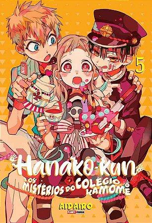 Hanako-kun e os mistérios do colégio Kamome - 05
