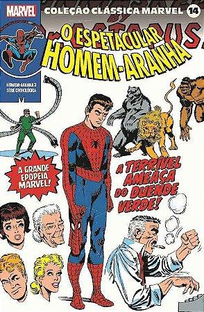 Coleção Clássica Marvel Vol. 14 - Homem-Aranha Vol. 3