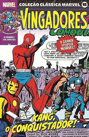 Coleção Clássica Marvel Vol. 15 - Vingadores Vol. 2