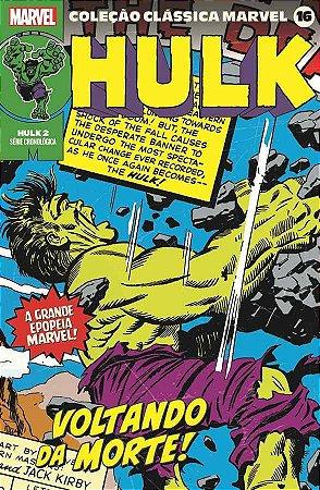 Coleção Clássica Marvel Vol. 16 - Hulk Vol. 2