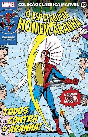 Coleção Clássica Marvel Vol. 10 - Homem-Aranha Vol. 2