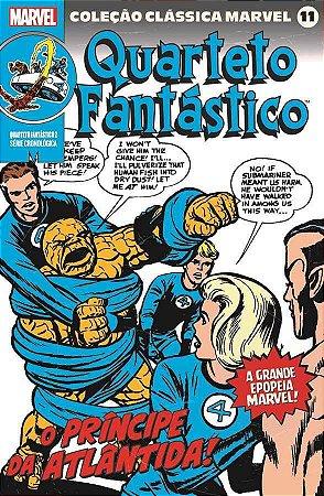 Coleção Clássica Marvel Vol. 11 - Quarteto Fantástico Vol. 2