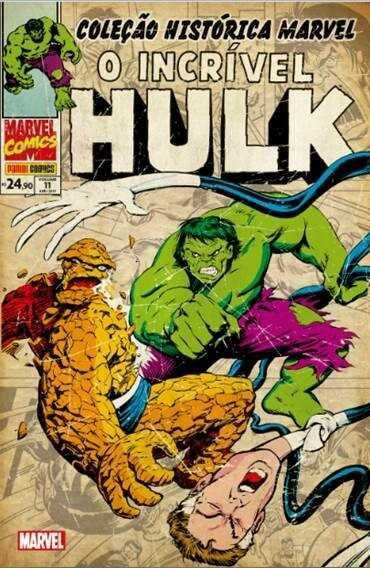 Incrível Hulk Vol. 11 Coleção Histórica Marvel