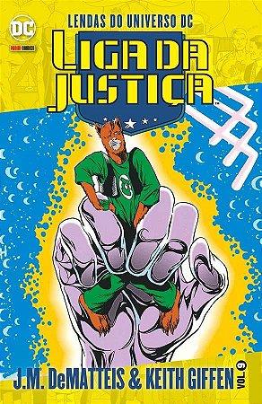 Liga da Justiça J.M. DeMatteis & Keith Giffen -Vol. 9