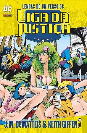 Liga da Justiça J.M. DeMatteis & Keith Giffen -Vol. 8