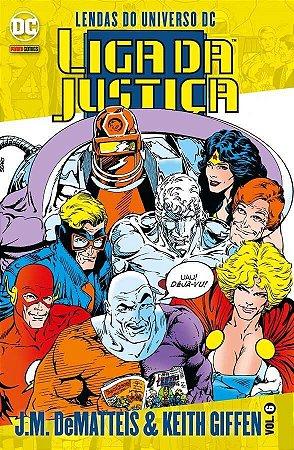 Liga da Justiça J.M. DeMatteis & Keith Giffen -Vol. 6