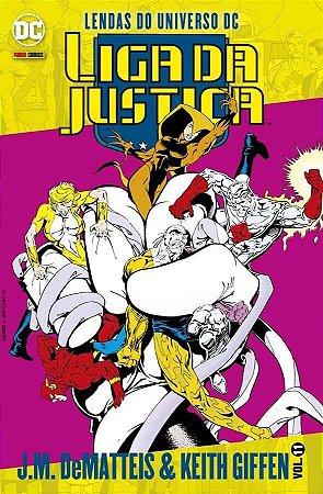 Liga da Justiça J.M. DeMatteis & Keith Giffen - Vol.11