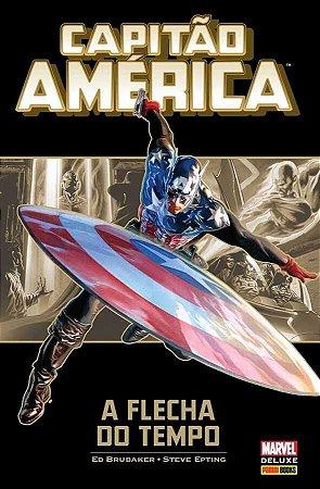 Capitão América: A Flecha do Tempo Capa Dura